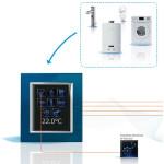 I dati dei consumi di elettricità sono sempre disponibili e consultabili su touch screen